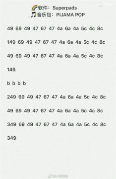 superpads pophit教程版下载 superpads pophit数字谱 附视频教学 5577